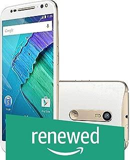 (Renewed) Motorola Moto X Style XT1572 ( White and Champagne , 16 GB)