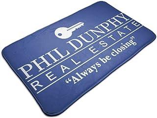 HUTTGIGH Phil Dunphy Real Estate Always Be Closing Modern Family, tapete para puerta de entrada, antideslizante, alfombra ...