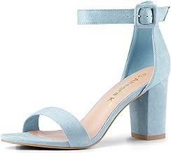 Best light blue strappy heels Reviews