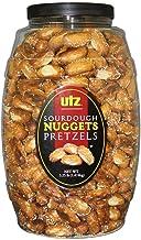 Utz Sourdough Nuggets Pretzels – 52 oz. Barrel – Bite-Size Pretzels with Classic Sourdough Flavor, Perfectly Salted with Z...