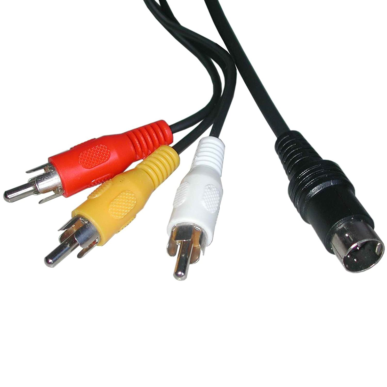 Sega Saturn Console AV Cable: Video Games