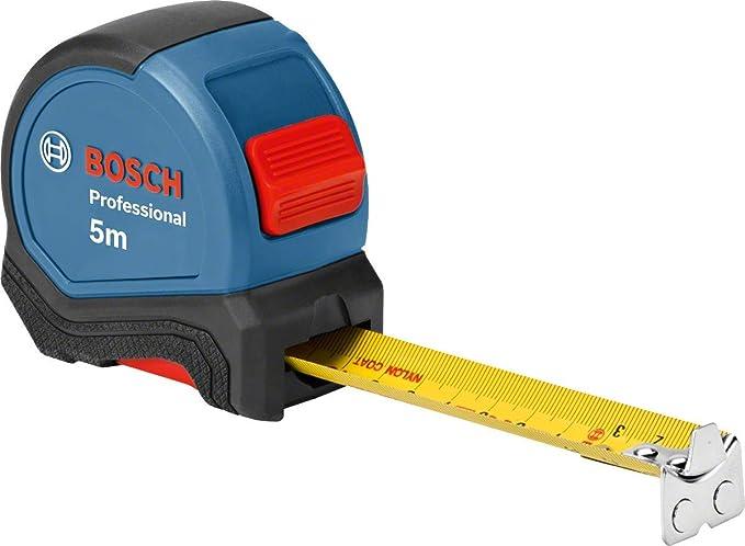 2440 opinioni per Bosch Professional 1600A016BH Metro, 5 m Comando a Una Mano, Clip per Cintura,