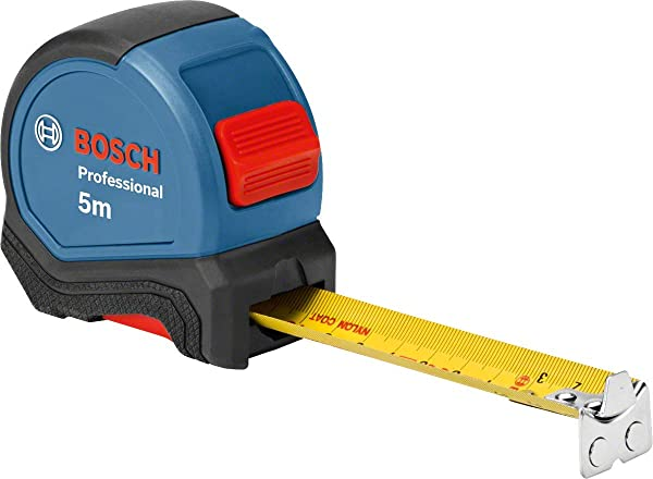 Bosch Professional 1600A016BH Tape Measure Length 5 M Width 27 Mm In Blister Packaging