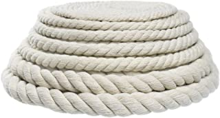 Original Natural Cotton Rope – Crafting, DIY, Handmade Projects (5/8 Inch x 25 Feet)