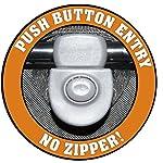 Pet Gear AT3 No-Zip Pet Stroller, Summit Grey 12