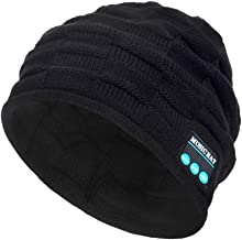 PASATO New Winter Unisex Bluetooth Wireless Smart Beanie Keep Warm Windproof Hat Handsfree Music Speaker