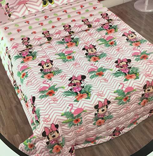 Disney Trapuntino Singolo Minnie Mouse Topolina