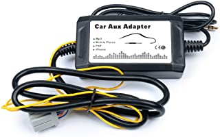 HOTSYSTEM Car Aux-in Adapter MP3 Player Radio Interface for Chrysler Jeep Dodge