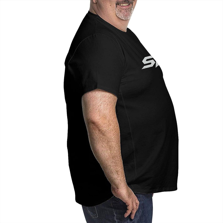 lwufnok Skillet Band Big Size Men's t-Shirt Round Neck Short Sleeve T-Shirt