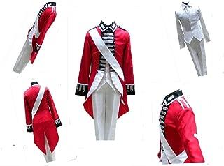 Axis Powers Hetalia APH United Kingdom England Cosplay Costume