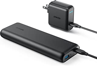 Anker PowerCore Speed 20000 Pd, 20100mAh Portable Charger & 30W Power Delivery Charger Bundle, Input & Output Type C Power Bank for MacBook Air/Ipad Pro 2018, iPhone 11/ Pro/X, Macbooks, S10