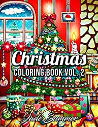 21. Christmas Coloring Book by Jade Summer
