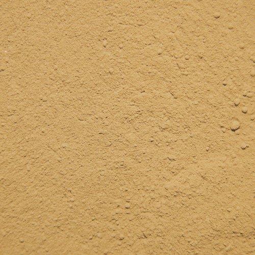Terra Exotica 25 kg Lehmpulver, Naturlehm, Bodengrund, Lehm gelb