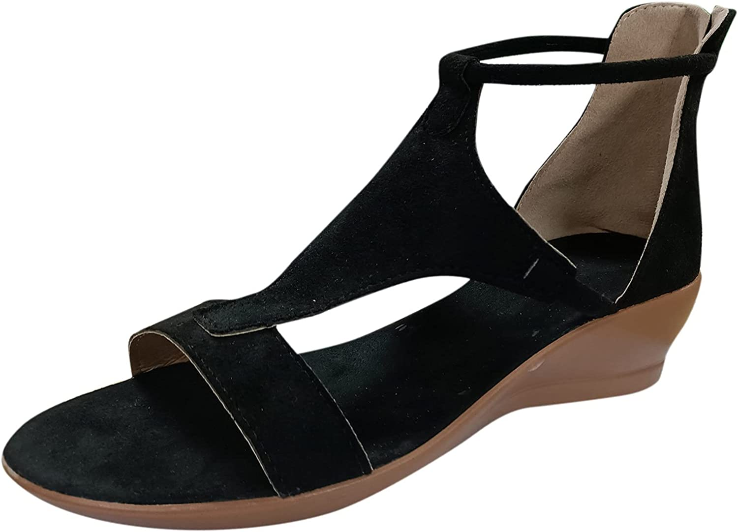 USYFAKGH Womens Sandals Wedges Super sale O Women For Summer Max 61% OFF