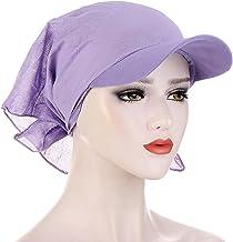 jiangye Turban oddychający jednokolorowy kwadratowy szal kapelusz turban kapelusz turban szal/turban oddychający Solid Col...