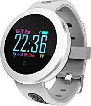 Smart Horloge 1 0 Inch Scherm Fitness Tracker Sport Stappenteller Armband Muziek Controle Weersomstandigheden Bericht Push...