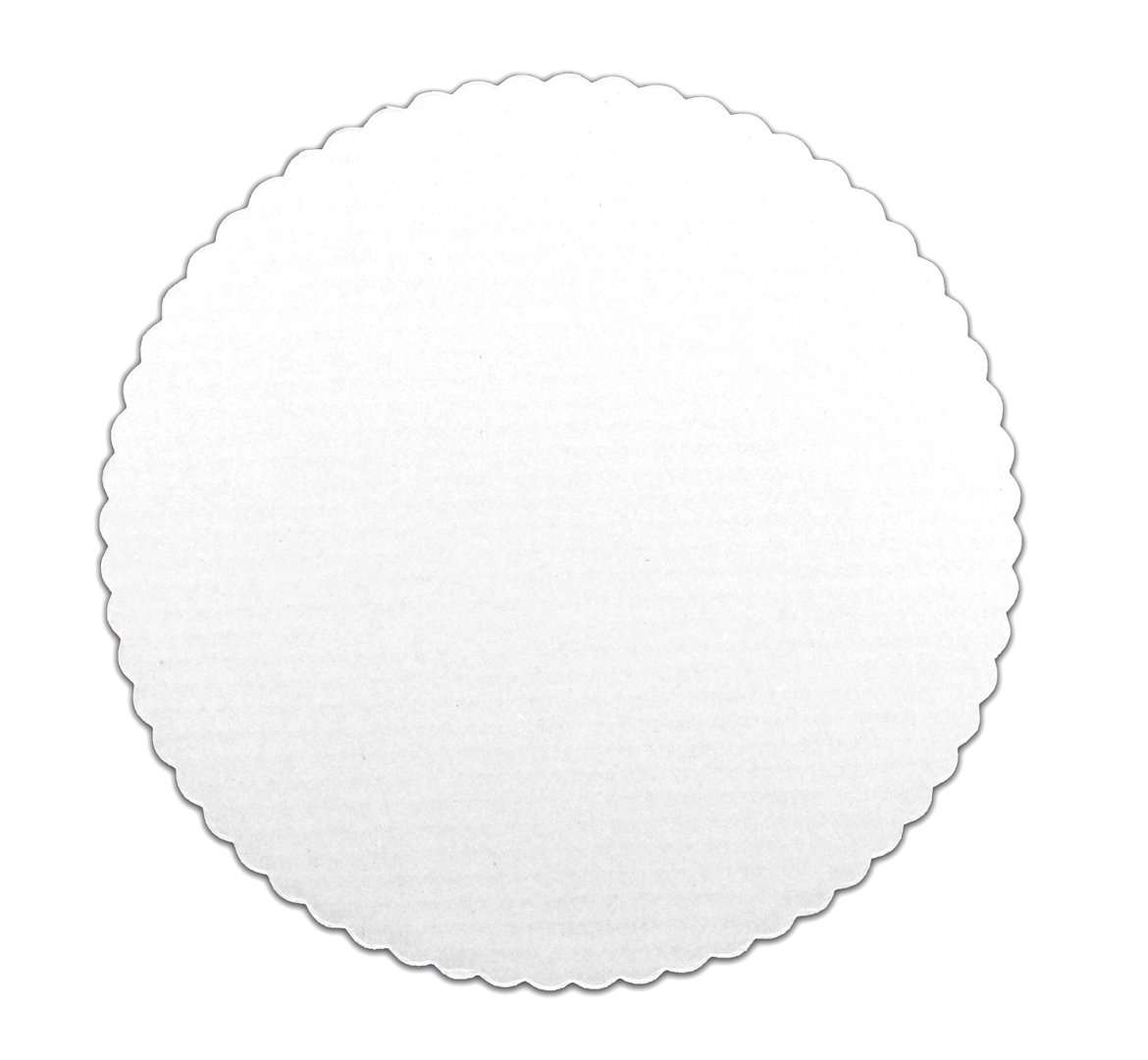 Inno-Pak 093202001 Coated Cash special price Corrugated Circle Pack of White 10
