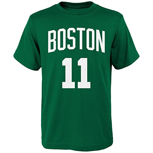 ce65b1321 Outerstuff Kyrie Irving Boston Celtics  11 Green Youth Home Name   Number T  Shirt