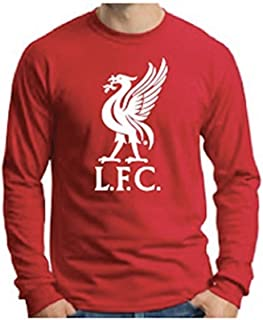Anfield Shop Liverpool FC Liverbird Red Long-Sleeve T-Shirt
