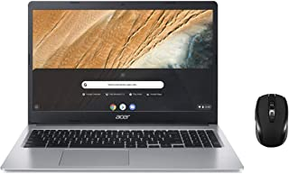 "2021 Newest Acer Chromebook 315 15.6"" HD (1366 x 768) Business Laptop (Dual-Core Intel Celeron N4000, 4GB RAM, 32GB eMMC) ..."