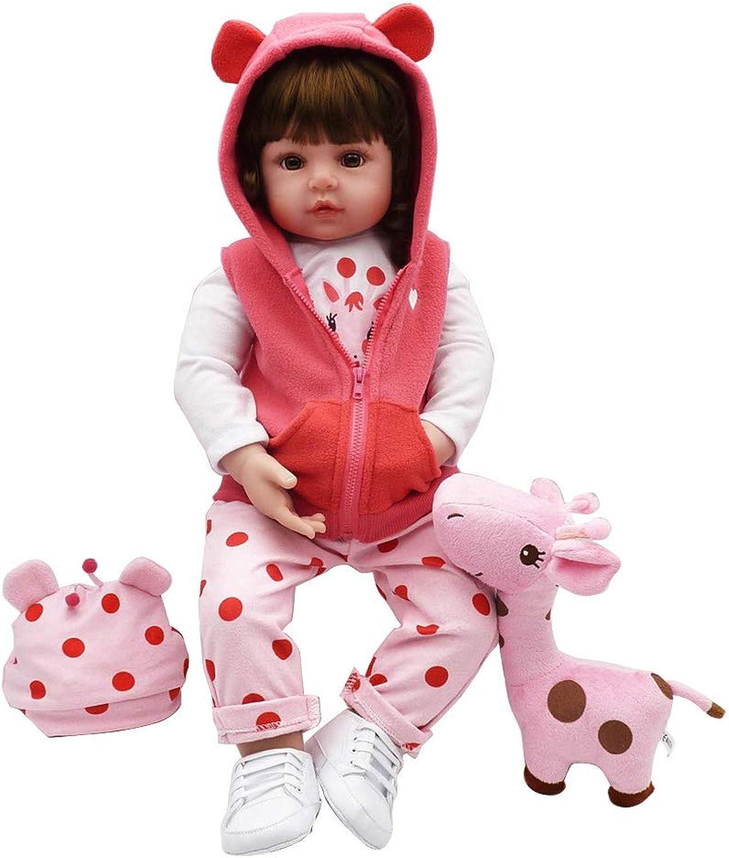 RealTouch Puppe für Neugeborene, aus Silikon, mit handbemalten Funktionen und handangewendetem Haar, 48,3 cm B07KFBQQDX Zuverlässiger Ruf  | Moderner Modus