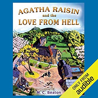 Agatha Raisin and the Love from Hell cover art