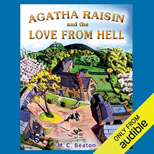 『Agatha Raisin and the Love from Hell』のカバーアート