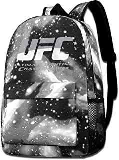 UFC 格闘 総合格闘技 王者 星空リュックサック リュックサック バックパック オクスフォード 大容量 防水 アウトドア 登山 旅行 通学 ファッション 登山 防水 軽量 多機能 リュック スポーツバッグ 男女通用 遠足