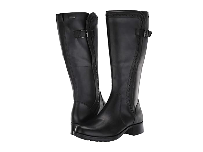 Rockport  Copley Tall Waterproof Boot (Black) Womens Boots