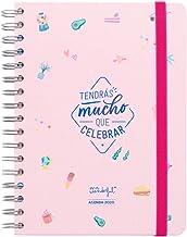 Mr. Wonderful WOA09932ES, Agenda, Tamaño Único, Multicolor