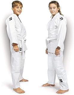 GREEN HILL JUDOGI Junior 350g/m2 Kimono Divisa Bianco Judo GI JU Jitsu Unisex
