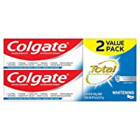 2-Pack Colgate Total Whitening Toothpaste 4.8Oz