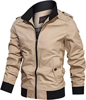 Coat for Men,Winter Wear Jacket,Men's Autumn Winter Outwear Pure Color Breathable Plus Size Washing Jacket Coat