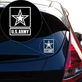 More Shiz Proud Parent of an Army Soldier Decal Sticker Car Truck Van Bumper Window Laptop Cup Wall Two 5 Inch Decals MKS0331