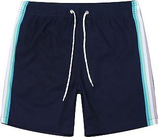 "APTRO Men's Swim Trunks Swimming Shorts Board Shorts Running Short 7"" Beach Shorts Quick Dry with Mesh Linning"