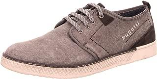 Men Lace-Up Shoes Grey, (Black/Black) 321689026930-1010