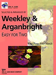 WP530 - Easy For Two Prep Level One Piano, Four Hands - Weekley & Arganbright