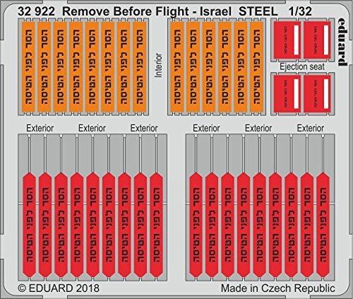 Eduard Remove Before Flight - Israel STEEL 1/32