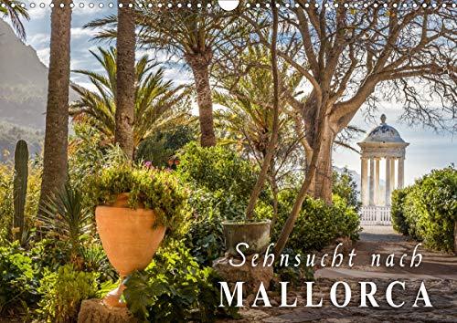 Sehnsucht nach Mallorca (Wandkalender 2021 DIN A3 quer)