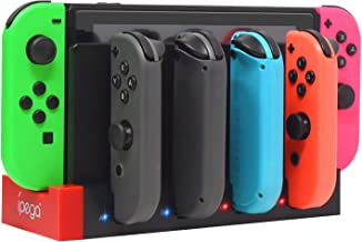 FastSnail Charger for Nintendo Switch Joy-con, Charging Dock Stand Station Base for Switch Joy-con with Charging Indicator