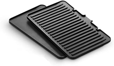 De'Longhi DLSK150 Grill and Griddle Plate Contact Grill Plates, Black, DLSK150