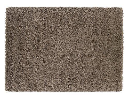 BALLROOM SHAGGY Hochflor Langflor Teppich in braun, Größe: 160x230 cm