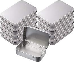 INTVN Metalowe pudełko, pojemnik do przechowywania, mini pudełko, przenośne