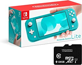 "Newest Nintendo Switch Lite - 5.5"" Touchscreen LCD Display, Built-in plus Control Pad, YZAKKA..."