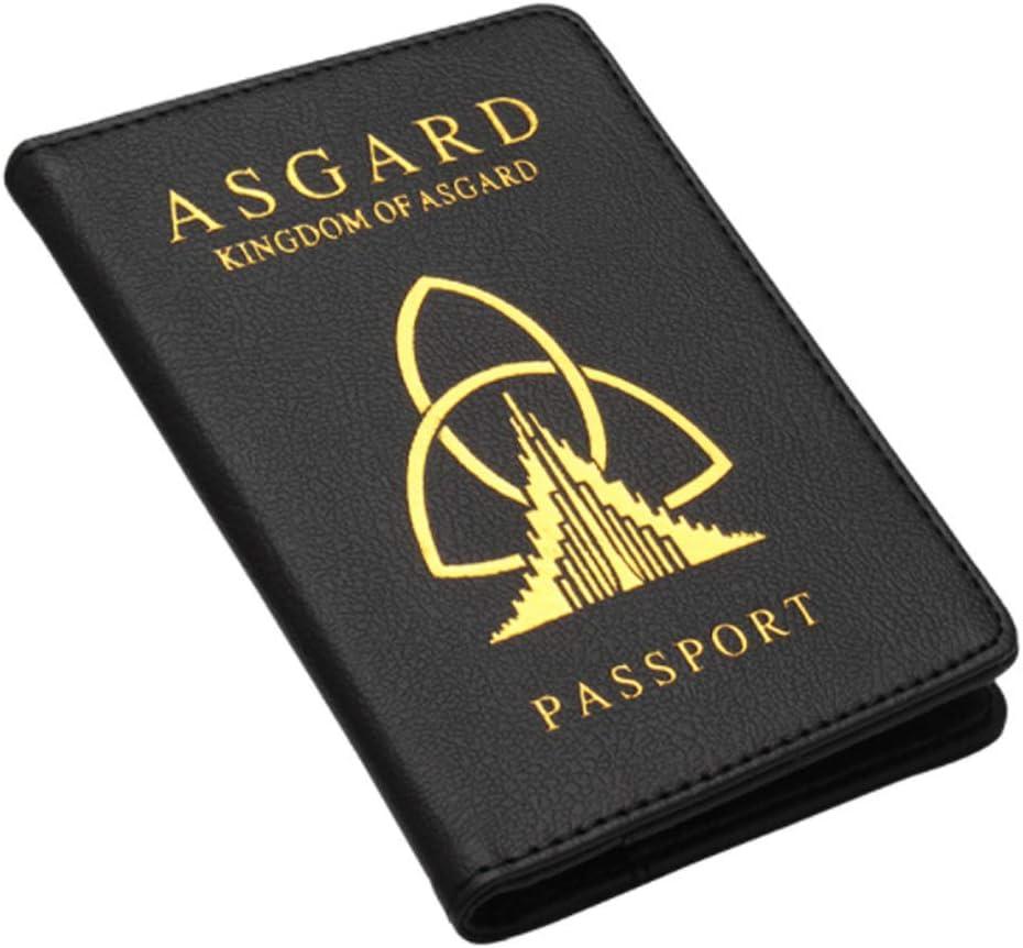 Passport Great interest Cover Kingdom of Holder Wakanda Leathe depot Printed