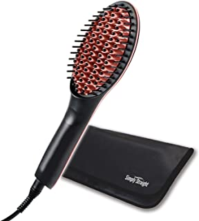 Best simply straight brush for black hair Reviews