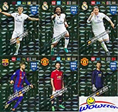 2018 Panini Adrenalyn XL FIFA 365 EXCLUSIVE HUGE TWELVE(12) Card Limited Edition Set! Rare Set Imported from Europe! Includes David De Gea, Gerard Pique, Toni Kroos, Sergio Ramos, Arturo Vida & More!