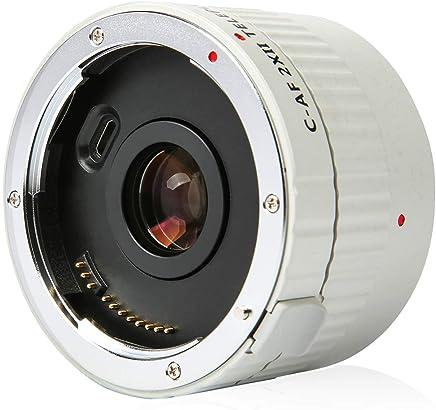 $96 Get VILTROX Telephoto Extender C-AF 2XII Teleplus Auto Focus Tele-Converter Lens for Canon EF Mount Lens n DSLR Camera 7D 6D 7DII 80D 5D2 5D3 5DS 5DSR 1DMark I/II/III/IV 1DS Mark I/II/III 1DX