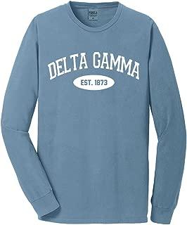 Delta Gamma Long Sleeve Tee - Vintage Color