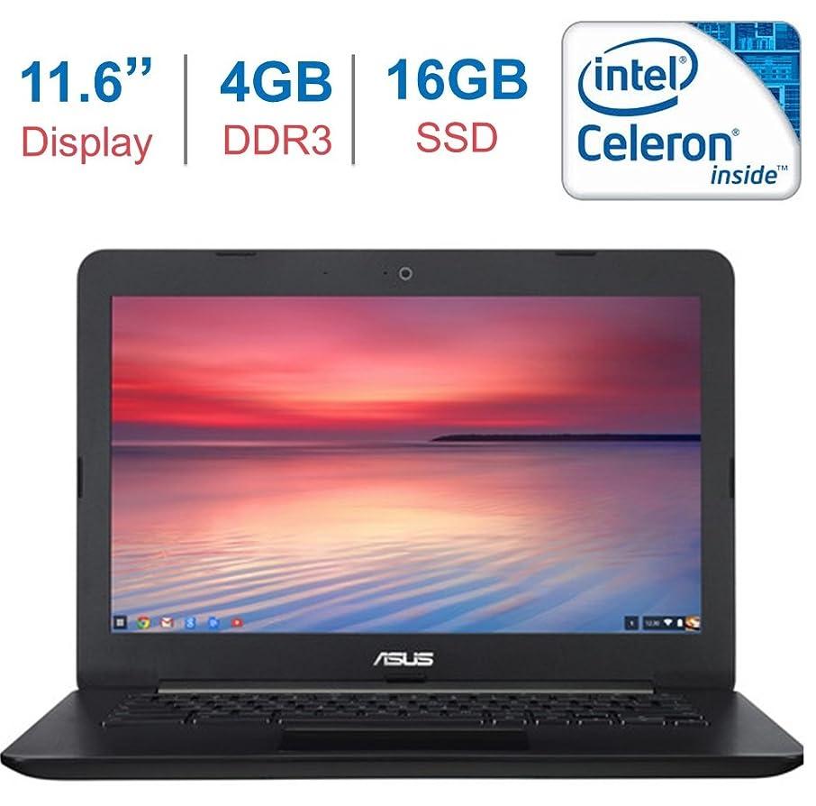 ASUS Chromebook C300 13.3 Inch (HD Backlit Display, Intel Celeron Processor, 4GB DDR3 RAM, 16GB SSD, Intel HD Graphics, Bluetooth, HDMI, HD Webcam, 802.11 ac WIFI, Google Chrome OS, Black)